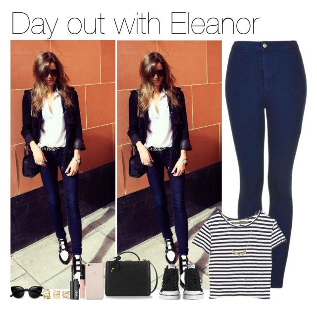 """""""Day out with Eleanor"""" by vane-abreu ❤ liked on Polyvore featuring Topshop, Enza Costa, adidas Originals, Mark Cross, Black Apple, NARS Cosmetics, Jennifer Meyer Jewelry, Charlotte Russe and ZeroUV"""