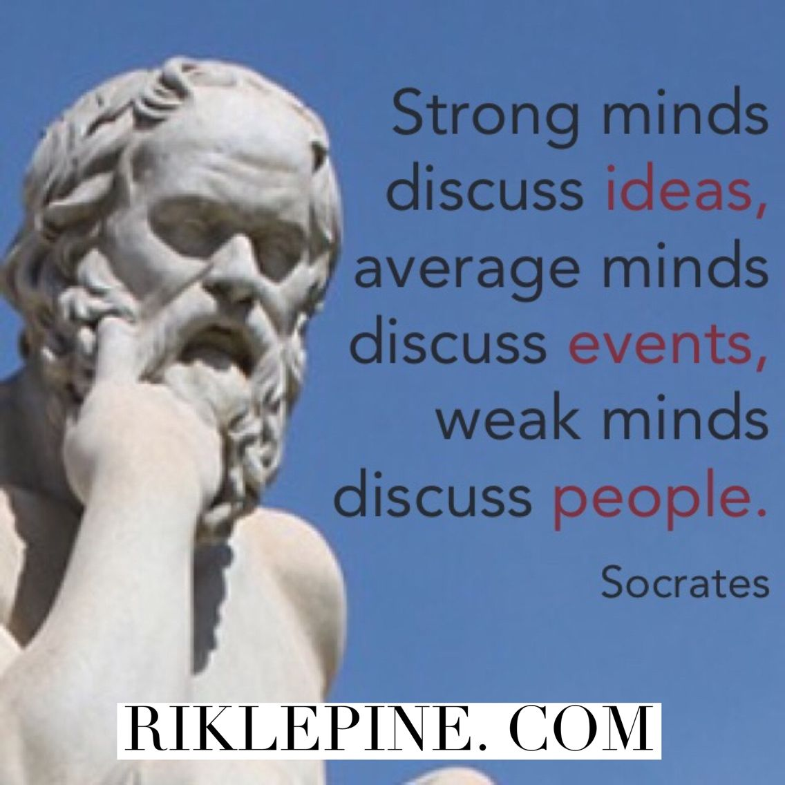 What do you discuss most often? #wisdom #ideas #socrates