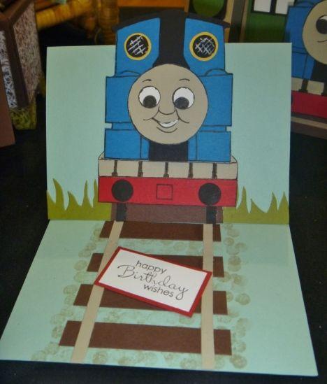Birthday Toot With Thomas Cards Kids Birthday Cards Birthday Cards For Boys Kids Cards