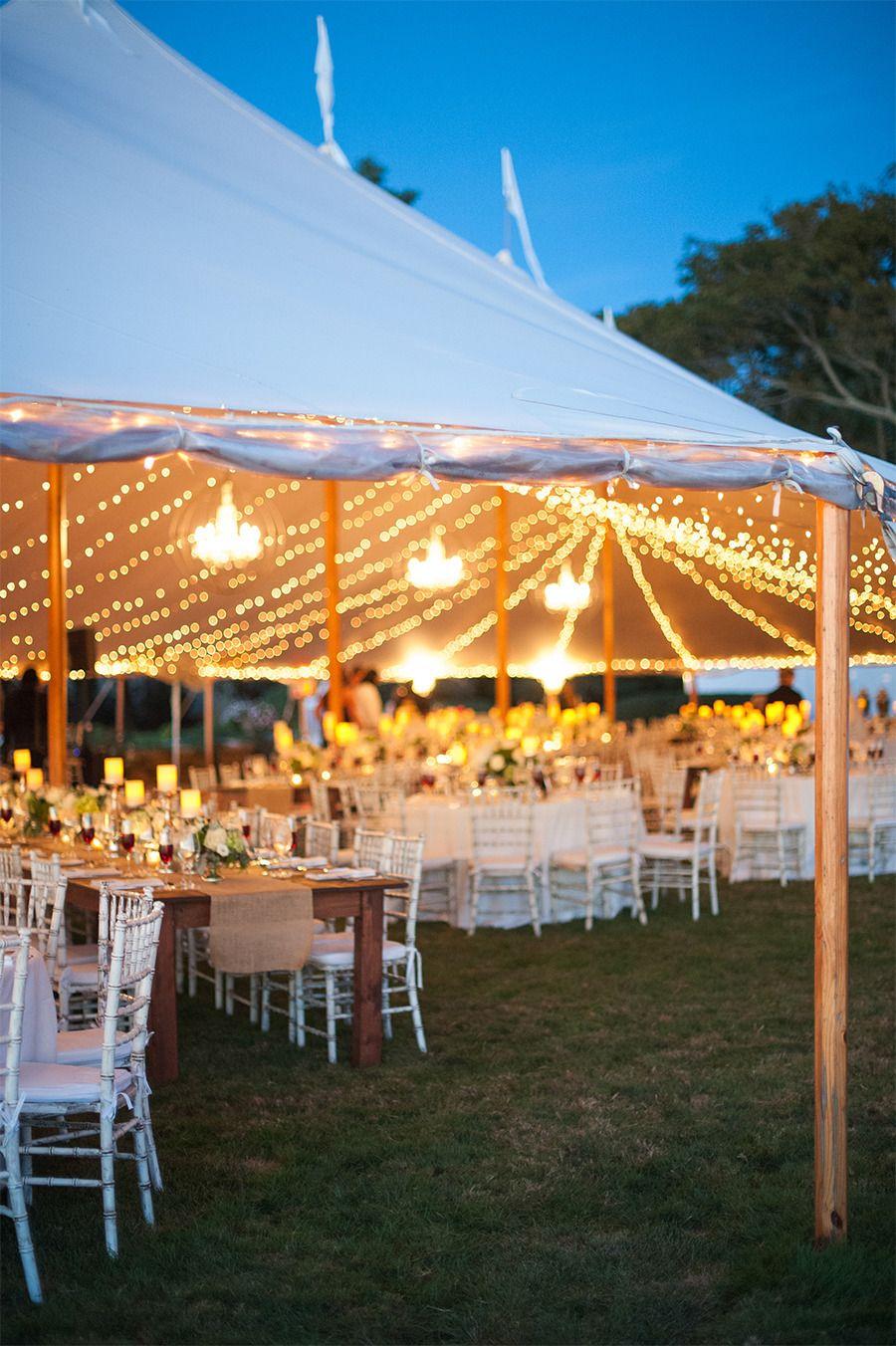 Elegant Newport Estate Wedding Wedding reception layout