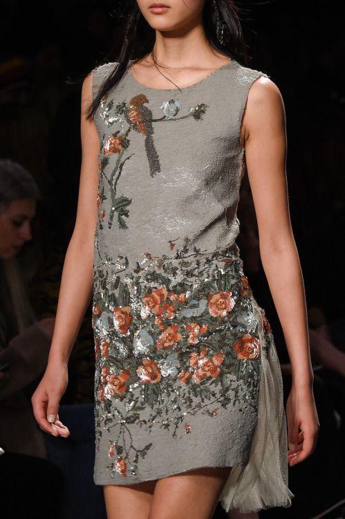"""improbabilefashionista: """"  Alberta Ferretti at Milan Fashion Week Fall 2016 """""""