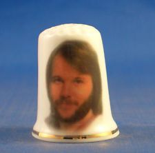 Free Gift Box Vintage Abba Benny Porcelain China Collectable Thimble