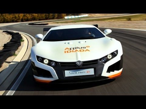 Electric Super Car From Spain Concept Cars Super Cars Electric Cars