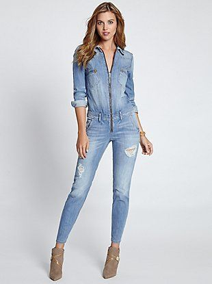 bigcatters.com long sleeve denim jumpsuit (07) #jumpsuitsrompers ...