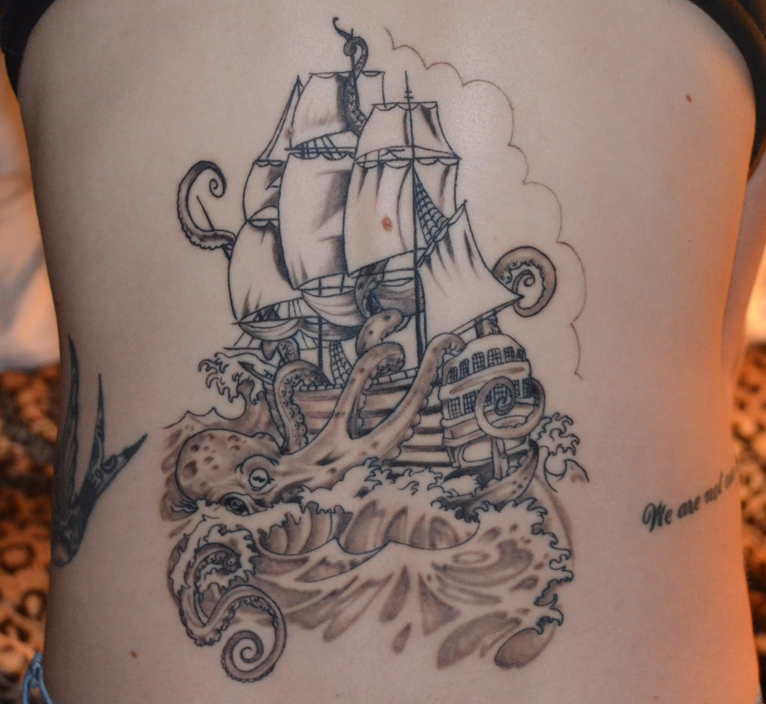 Octopus pirate ship!
