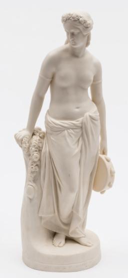 Estatua em Parian de meados do sec.19th, Art Union of London, 47cm de altura, 1,910 USD / 1,700 EUROS / 7,870 REAIS / 12,170 CHINESE YUAN soulcariocantiques.tictail.com