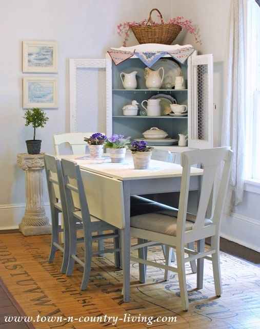 Summer Decorating In A Farmhouse Dining Room Cottage Dining