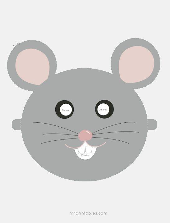 Printable Animal Masks - Mr Printables Projekty na vyzkoušení - free printable face masks