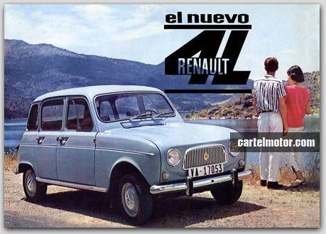 Resultado de imagen de renault 4 1963 españa