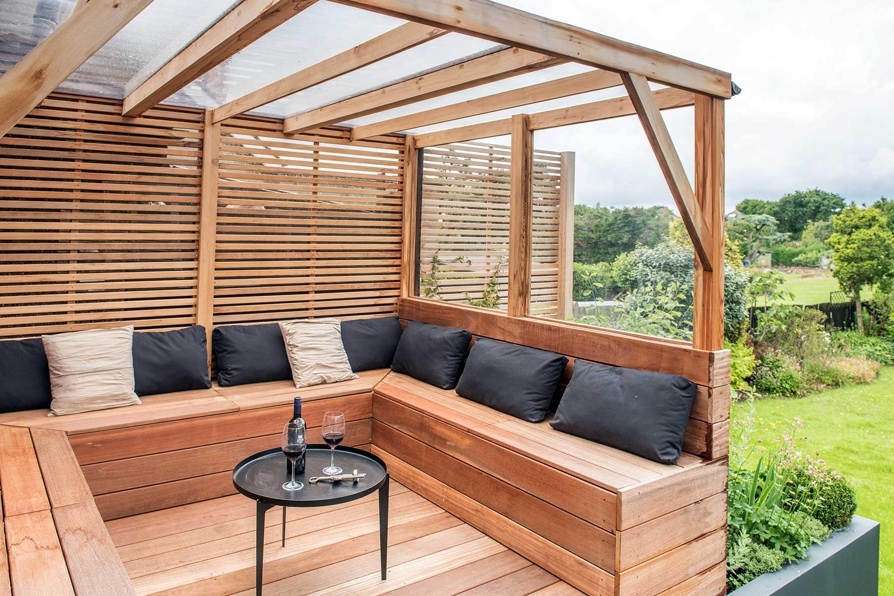 Covered Garden Bench With Storage Garden Storage Bench 640 x 480