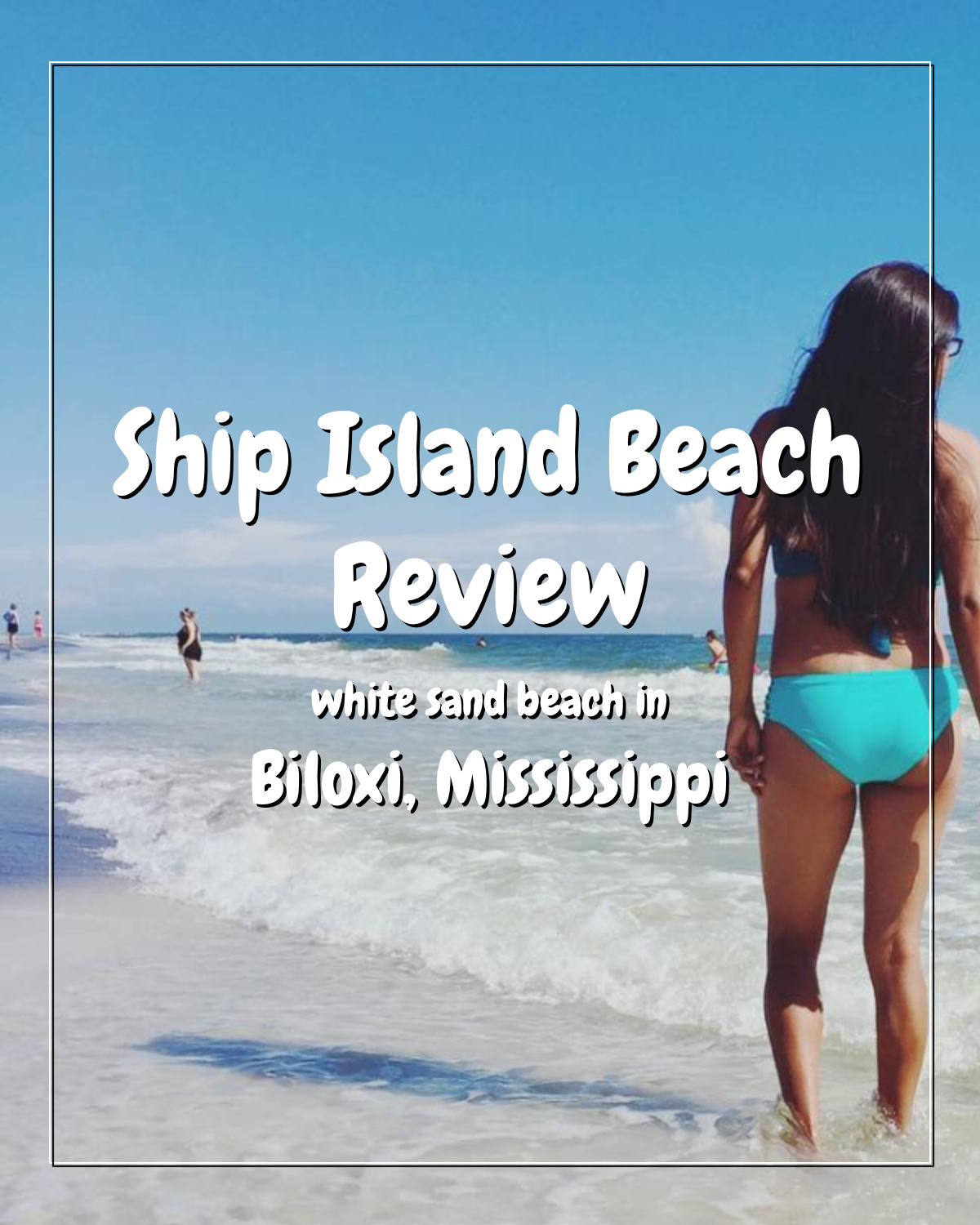 Ship Island Beach In Biloxi Mississippi Biloxi Island Beach