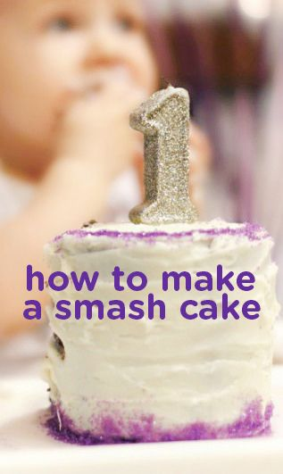 Super How To Make Am Easy Smash Cake First Birthday Cakes Baby First Funny Birthday Cards Online Inifodamsfinfo