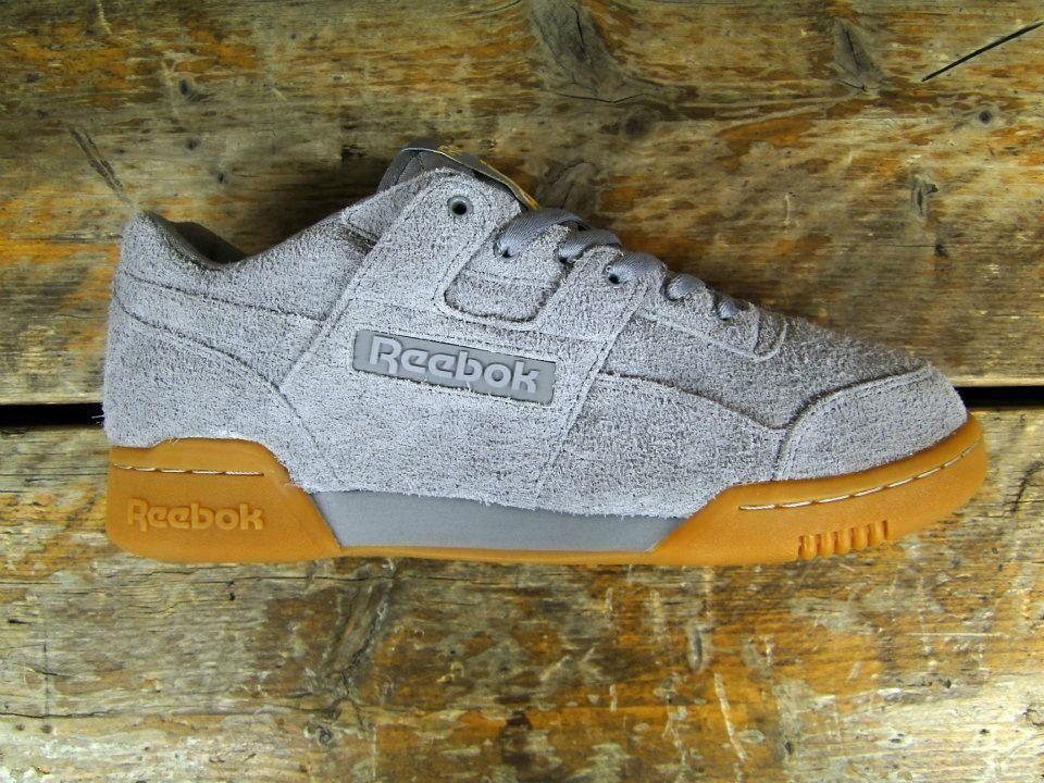 Reebok Workout Grey Suede