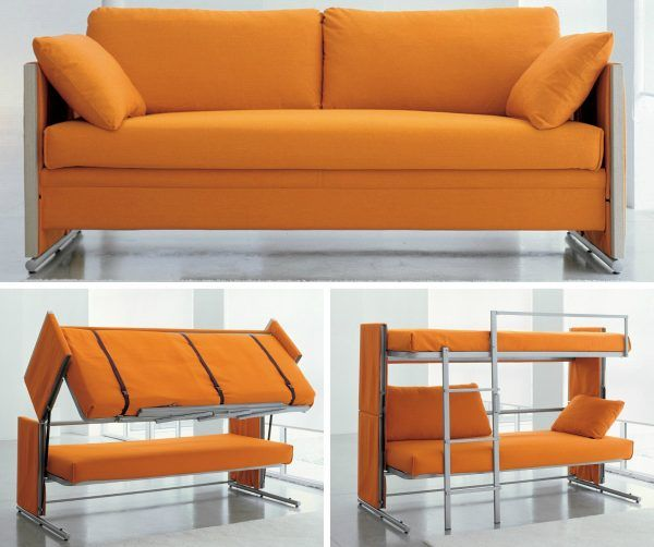 25 Creative Couch Into Bunk Bed Couch Bunk Beds Space