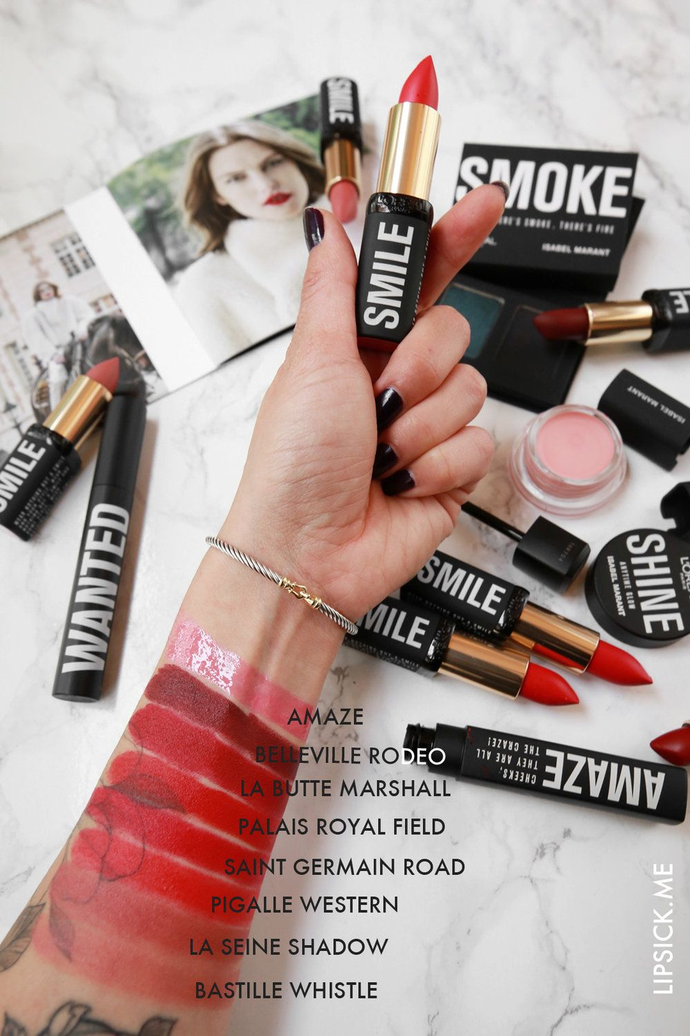 L'ORÉAL x ISABEL MARANT THE ENTIRE WANTED COLLECTION
