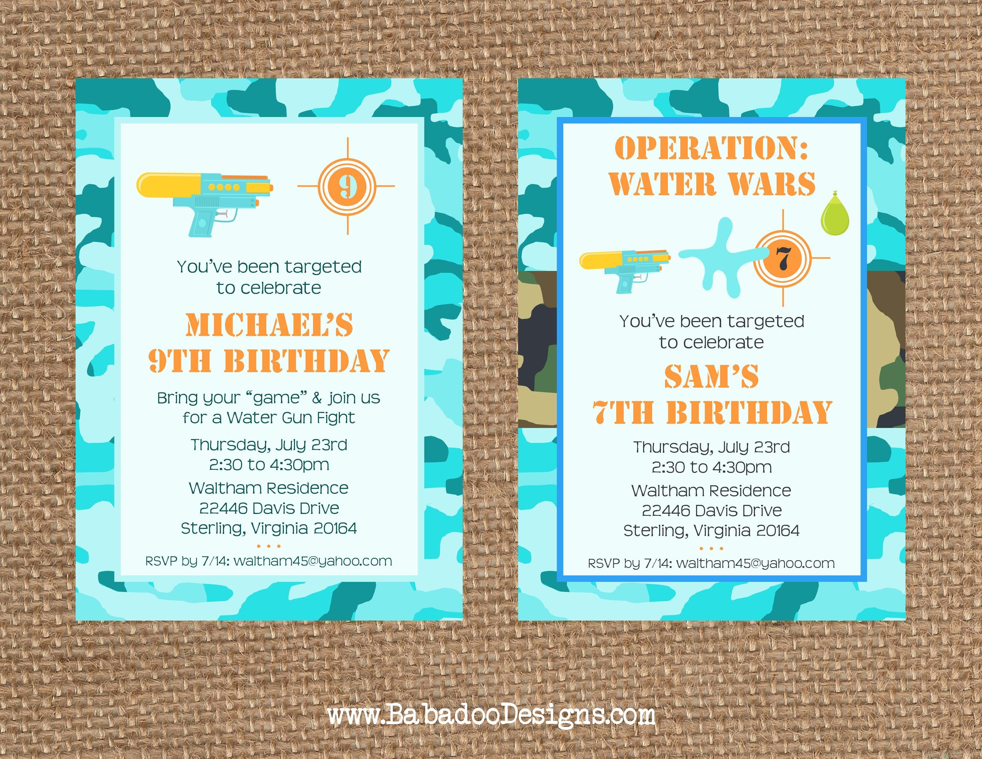 OPERATION WATER WARS + Pool Party // Birthday + Summer + End of Year ...