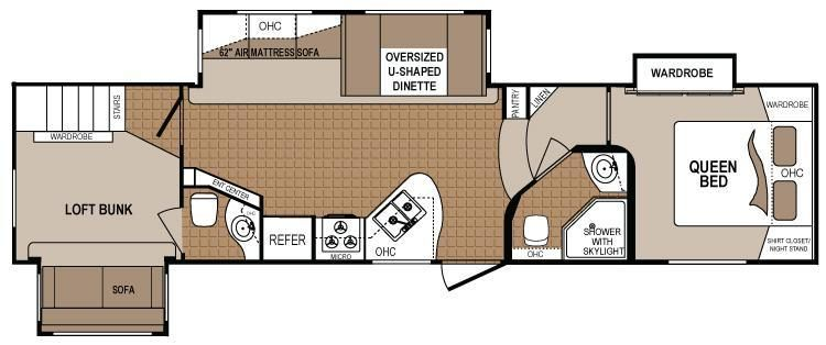1000 Images About Rv Wagon Tiny Home Floor Plans On Pinterest. 2 Bedroom Fifth Wheel Rv   Rooms