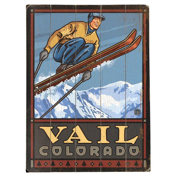 Vail Colorado Wall Art  sc 1 st  Pinterest & Vail Colorado Wall Art | Colorado Art | Pinterest | Vail colorado ...