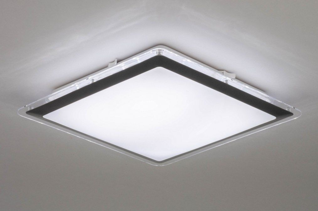 Artikel 12754 Moderne Led Badkamerlamp In Vierkante Vormgeving
