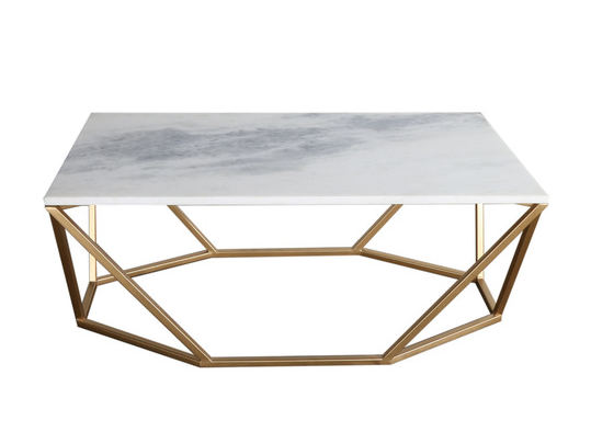 Geometric Marbletopped Coffee Table Do This Pinterest Marble - Geometric marble coffee table