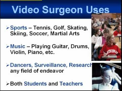 Video Surgeon Software Enables You To Grab A Video From The Internet Or From A Dvd And Slow It Down Speed It Up Change The Playing Guitar Video Motion Video