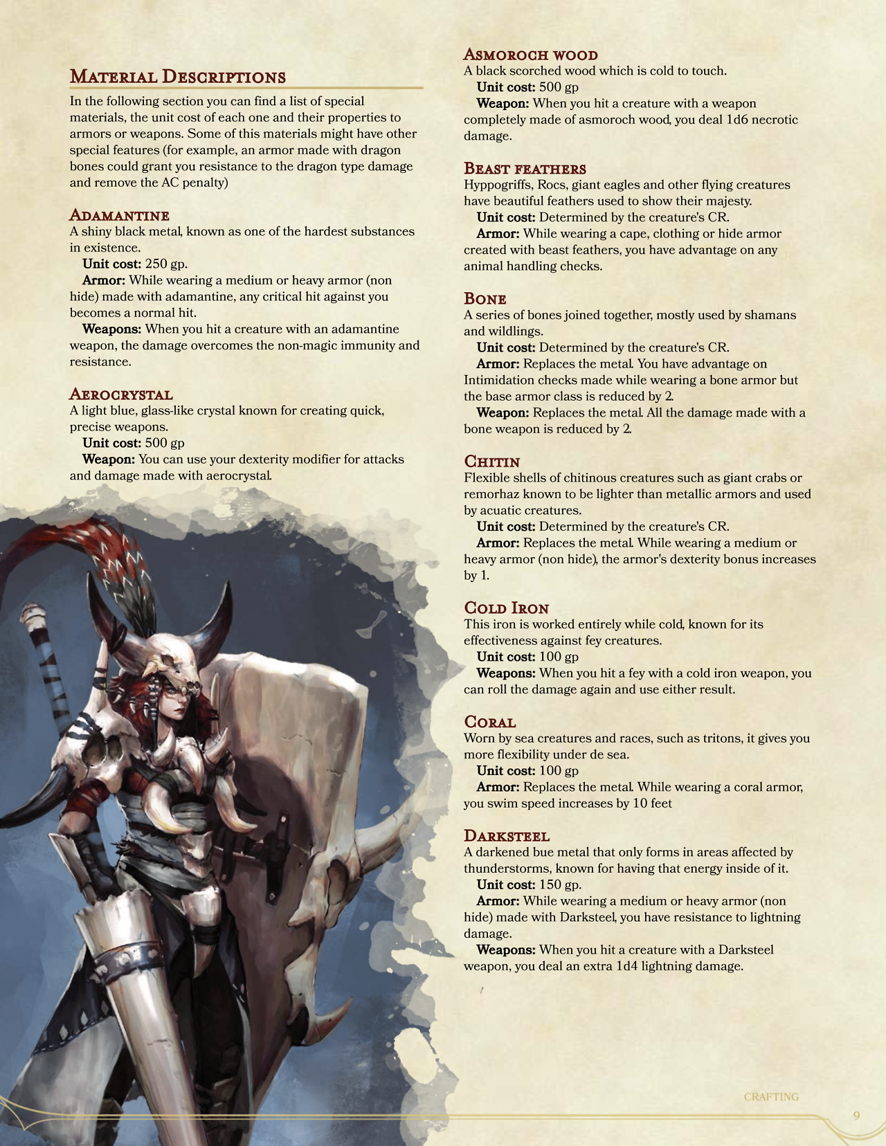 DnD 5e Homebrew — Wilderness Surivival Guide excerpts: Collecting ...