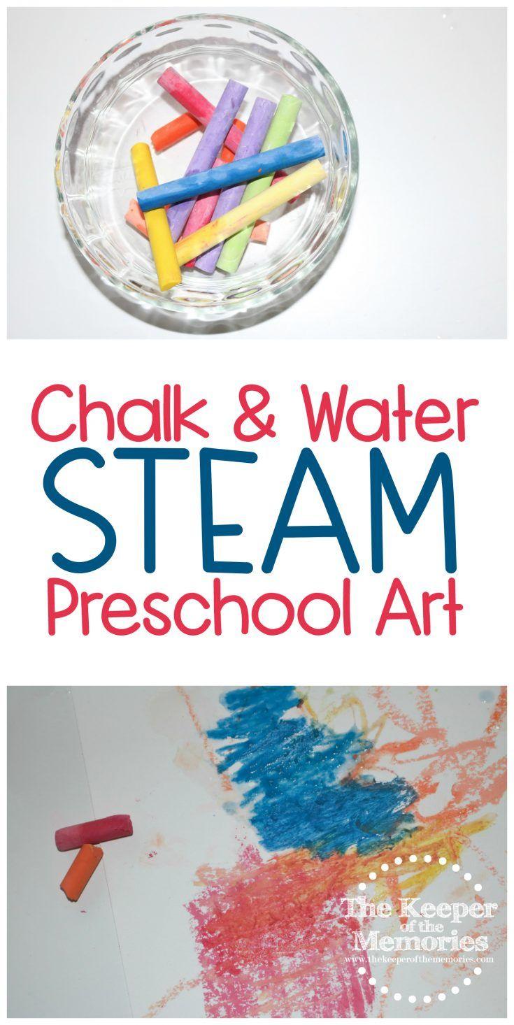 Artist Preschool Monthly Theme Chalk & Water Science & Nature STEAM Investigation Station in 2020 | Preschool themes. Preschool monthly themes ...