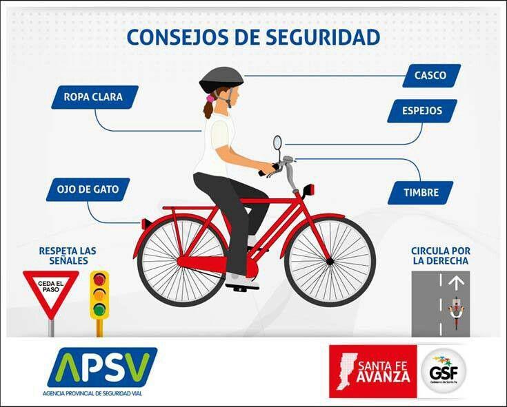 Consejos de Seguridad al andar en bicicleta. | Bicicletas ...