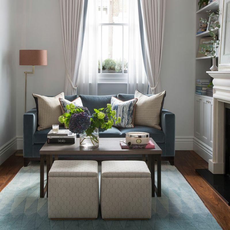 Kleines Wohnzimmer gestalten: Wie kann es schön werden | Wohnzimmer ...