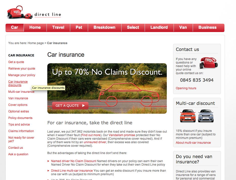 Direct Line Multi Car Insurance >> Like The New Style Of The Direct Line Adverts One