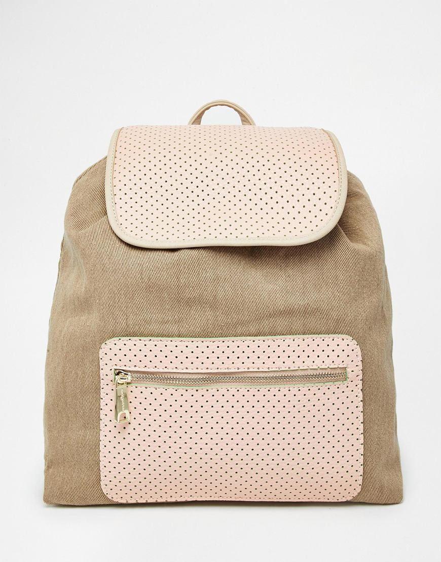 Image 1 ofPaul & Joe Sister Canvas Mix Backpack