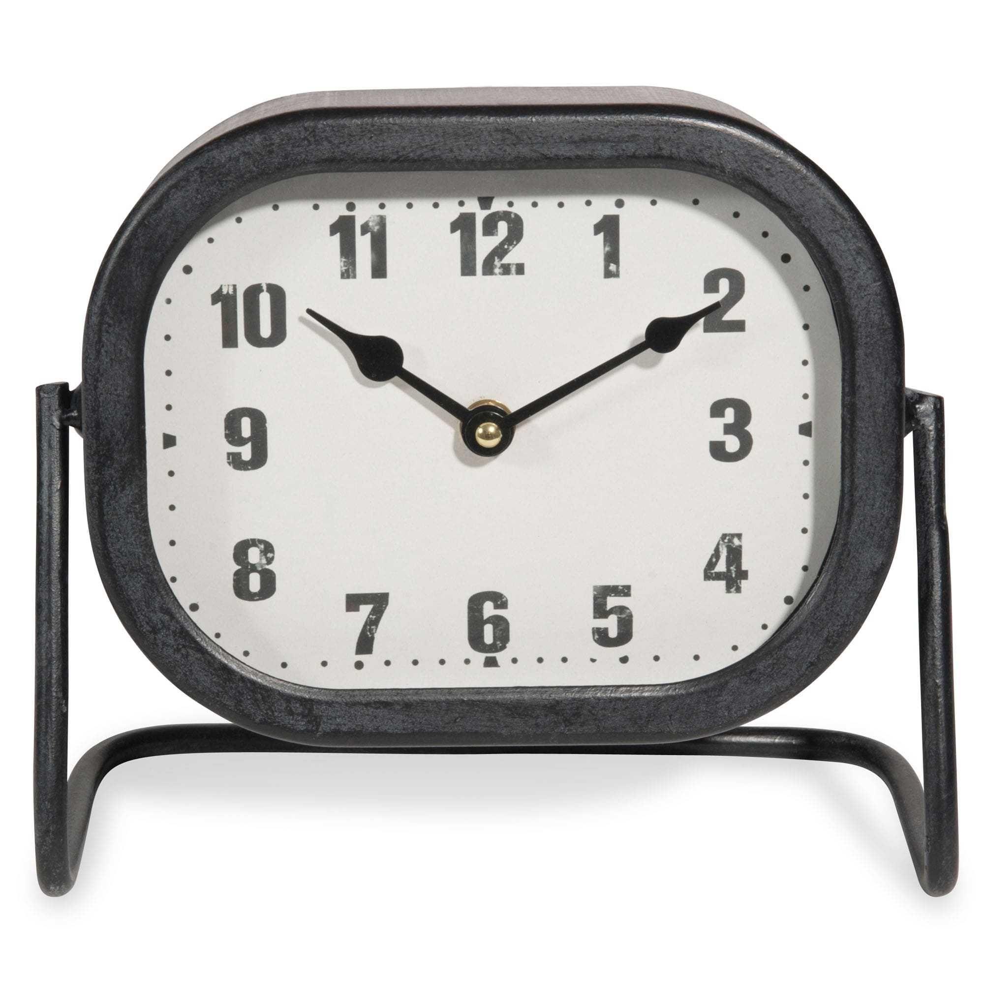 horloge poser en mtal 23x20cm horbec