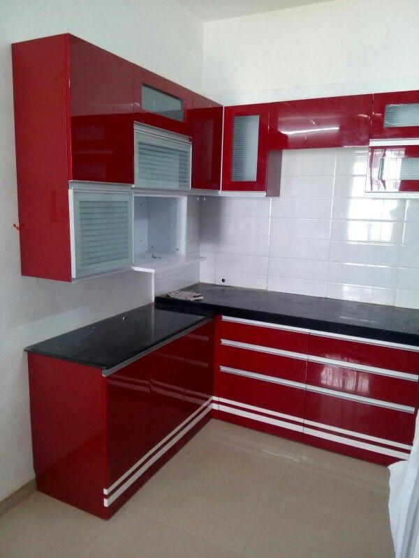 L Shaped Kitchen Design Price India