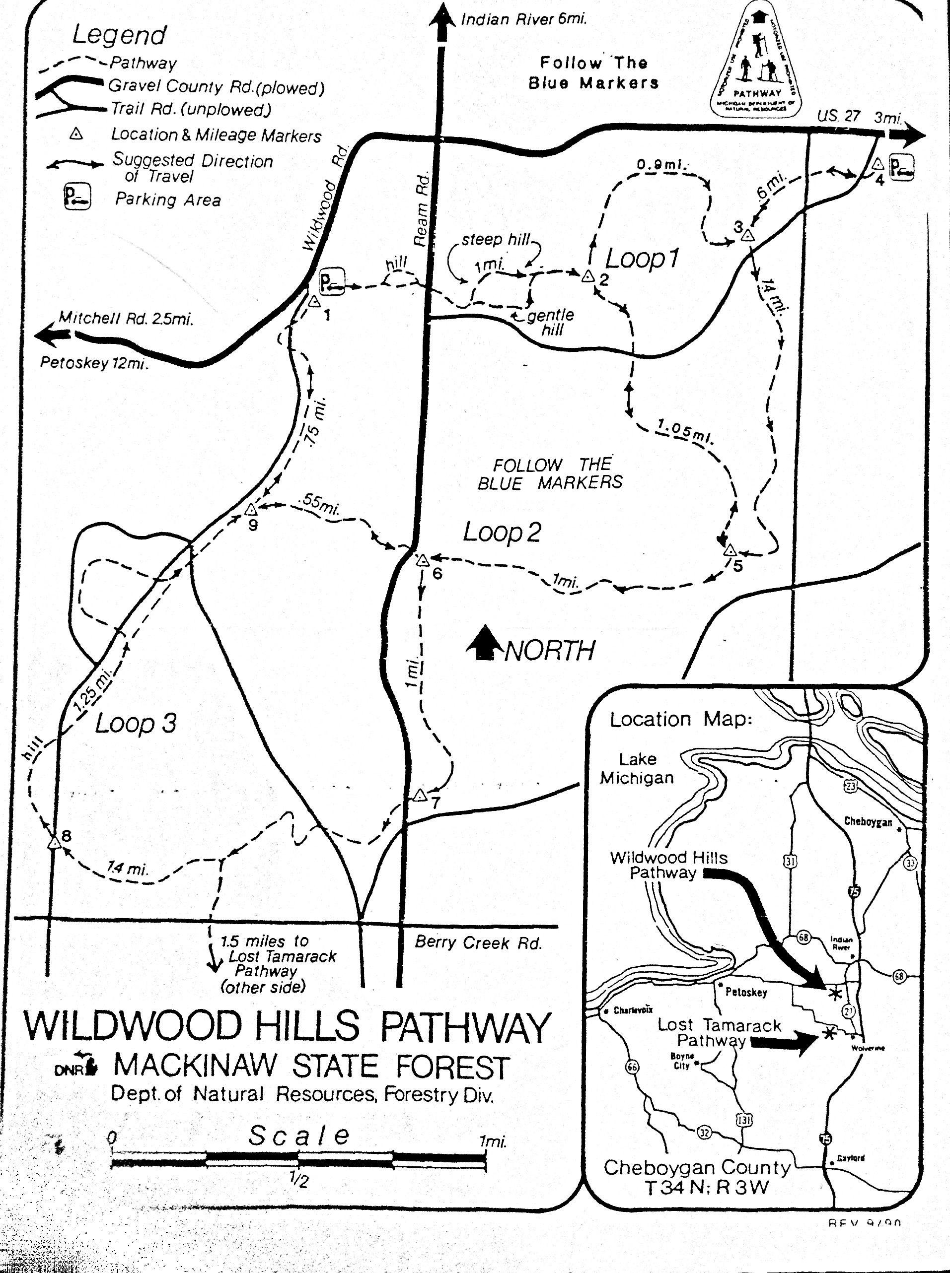 wildwood hills pathway n river mi hiking cross a country wildwood hills pathway n river mi hiking cross a country ski trails snowshoe hiking trails northern mi up ski crosses and country