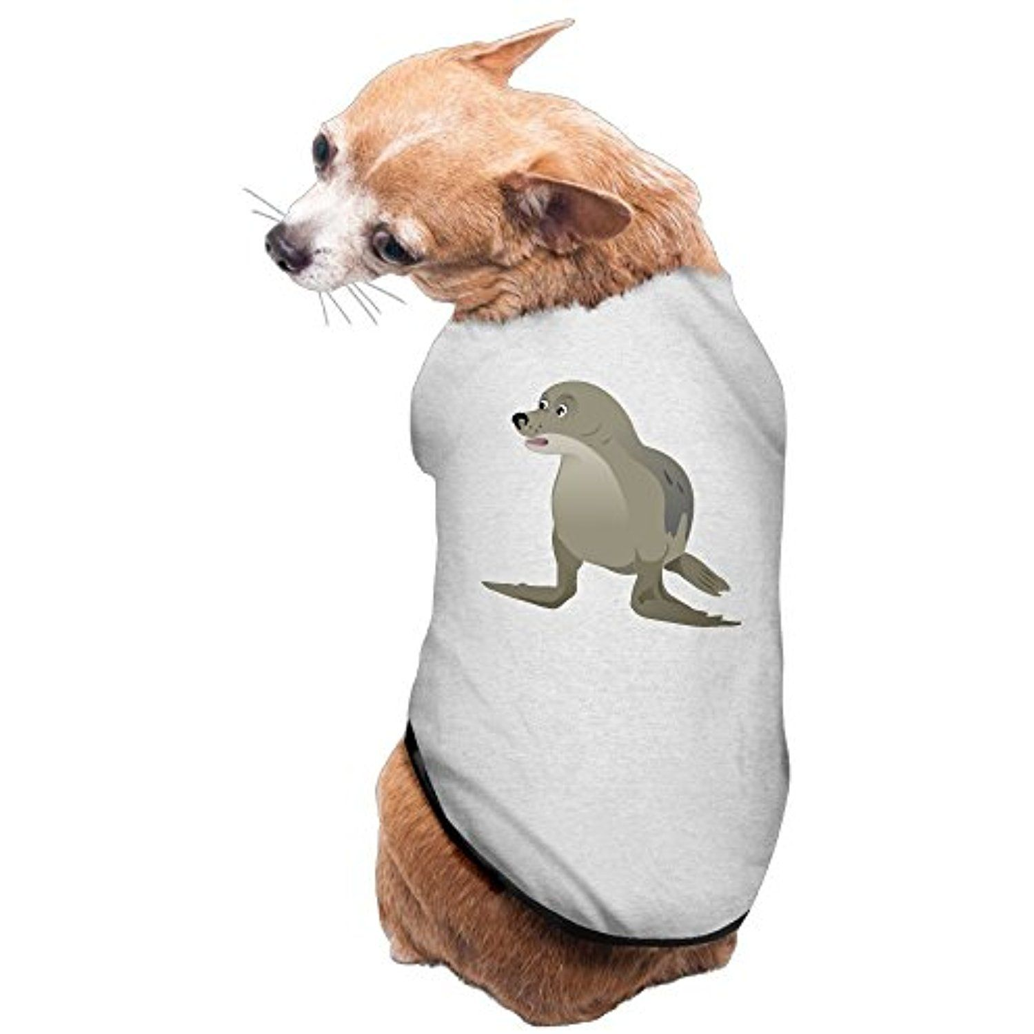 Sea lions cute dog pet puppy clothes outdoor dog shirt clothes t
