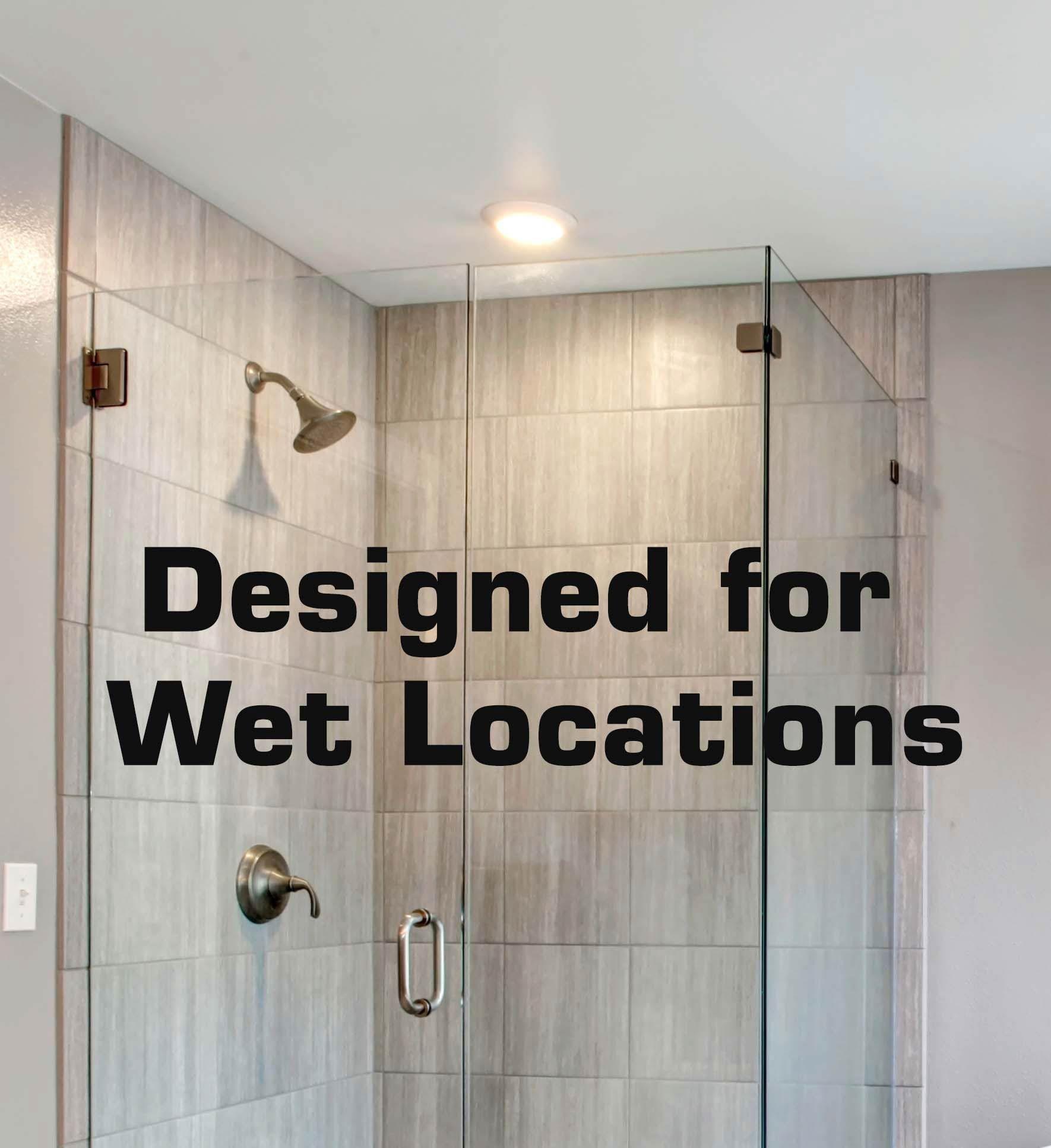 Wet Location Light Fixtures Shower