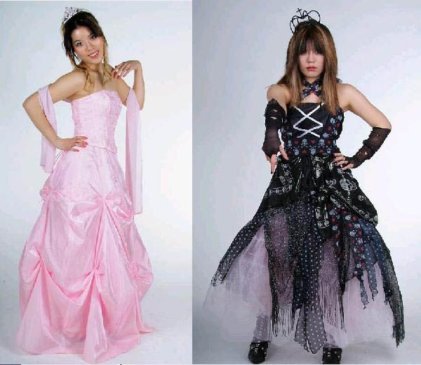 punk prom dress | Wedding Expert | Pinterest