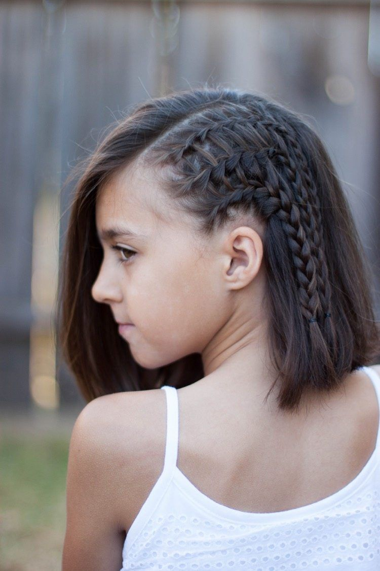 Coiffure pour petite fille 30 idées de coiffure fille à