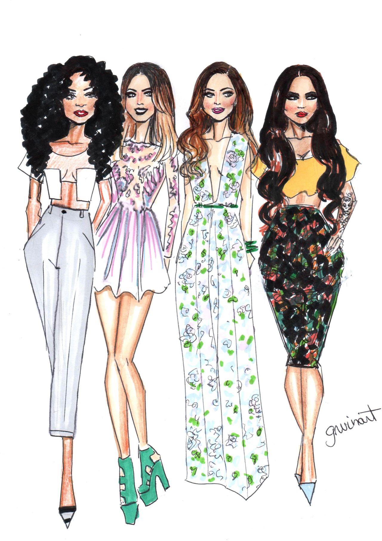 Little Mix   G-NUINART   Pinterest   Litte Mix Girl Group And Ariana Grande