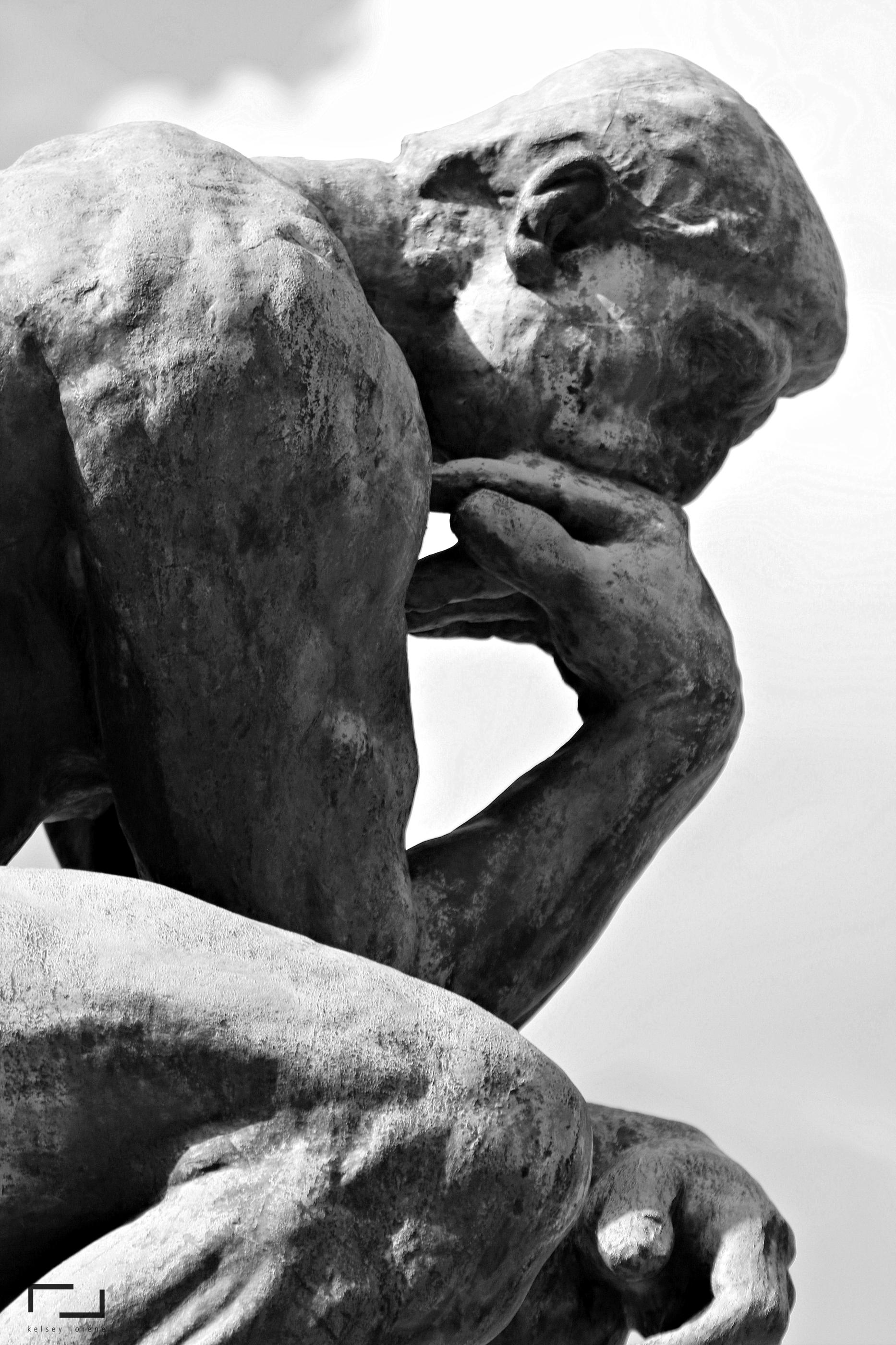 The Thinker Lion Sculpture Statue Greek Statue