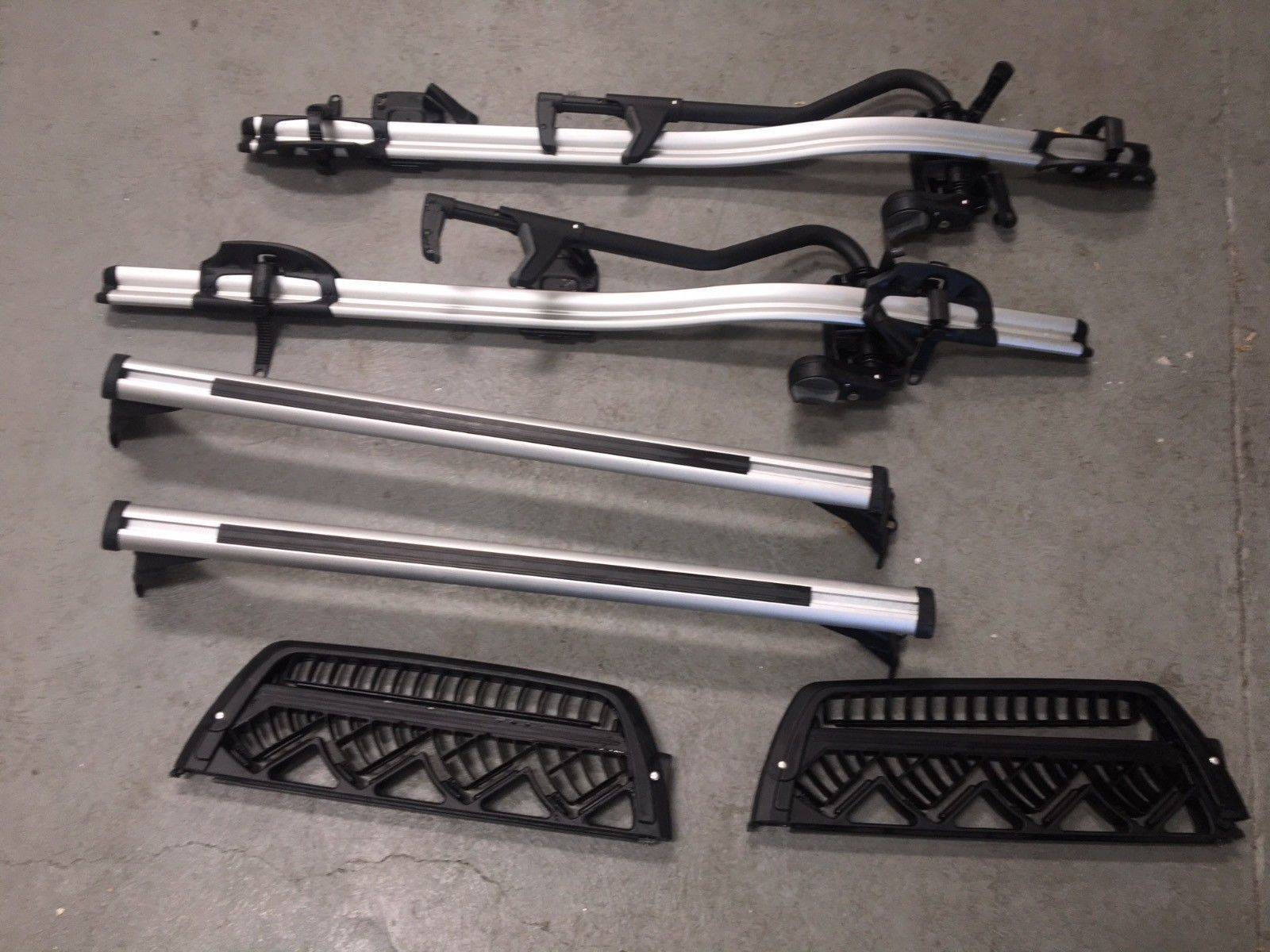 Details About Bmw E46 3 Series Touring Factory Roof Rack Railing