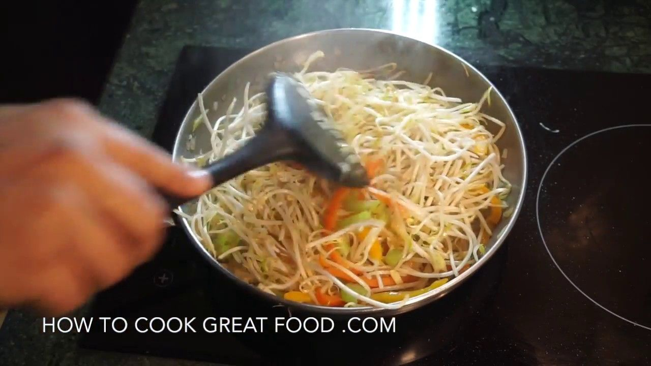 How to cook bean sprouts braised sprouts recipe vegan