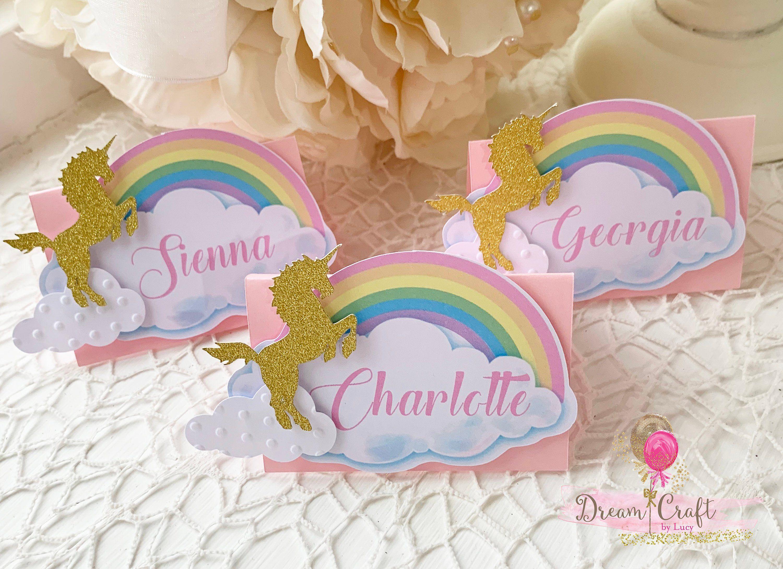 10 Unicorn Food Labels Party Decoration Unicorn Baby Shower Etsy Unicorn Foods Baby Shower Place Cards Unicorn Baby Shower