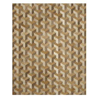 Tetra Pieced Hide Rug 8x10 Champagne Tan In 2020 Hide Rug Rugs Area Rugs