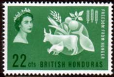 British Honduras 1963 Freedom From Hunger Fine Mint SG 214 Scott 179 Other West Indies and British Commonwealth Stamps HERE!