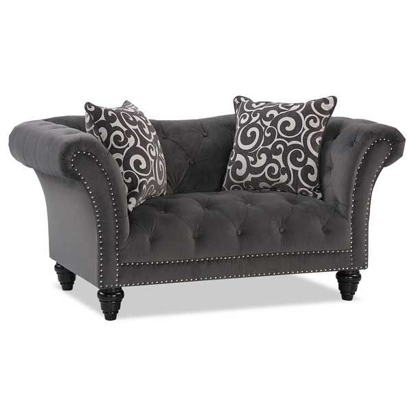 velvet with tufted or chair ottoman loveseat square luxury sf swatches