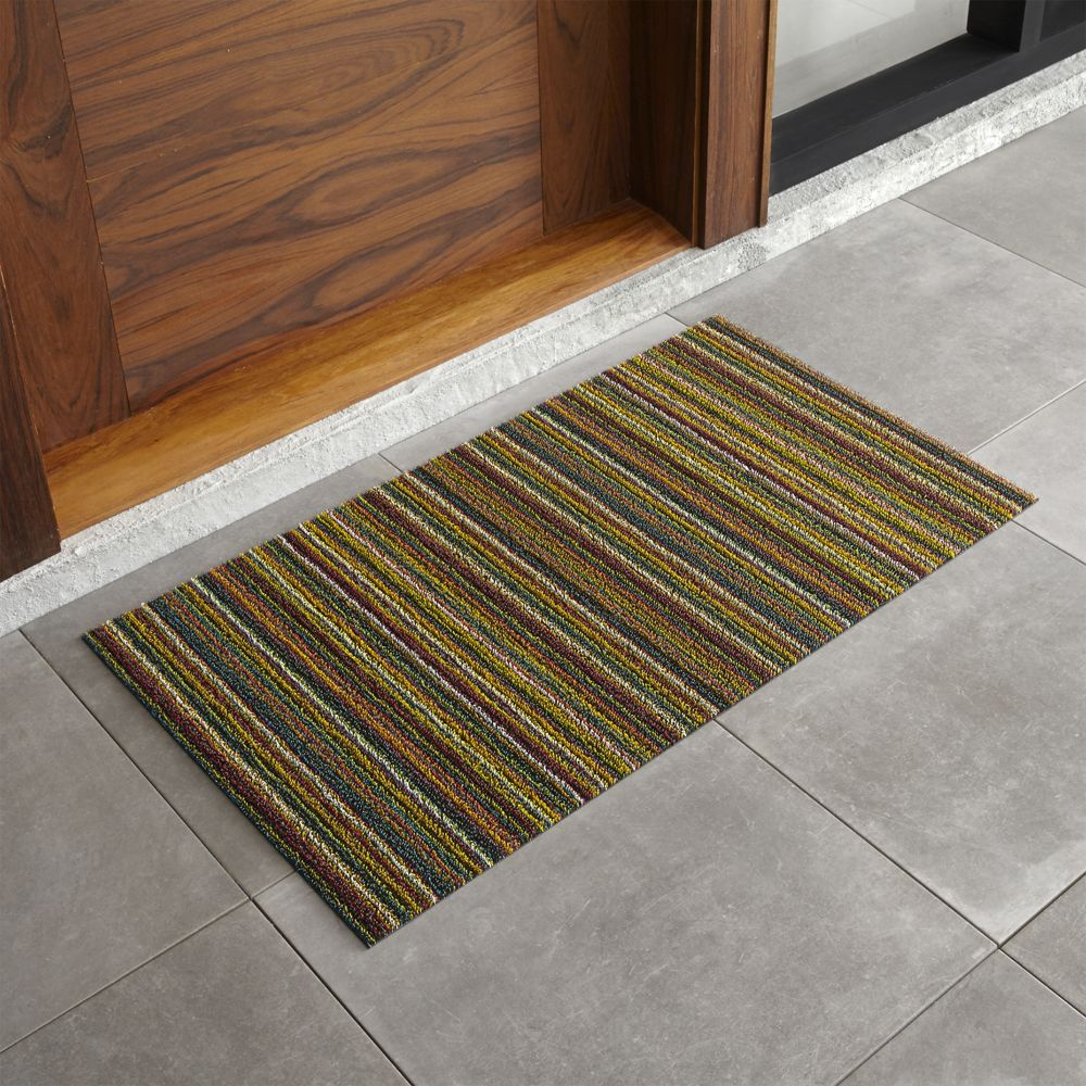 Chilewich 174 Multi Thin Striped 20 Quot X36 Quot Doormat Crate And