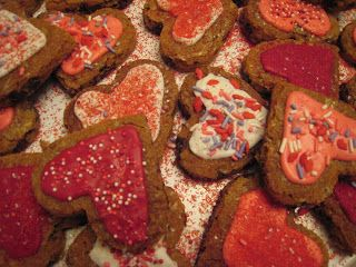 What kind of fun can Nestle help you whip up?  Heart Shaped Toll-House Pan cookies.