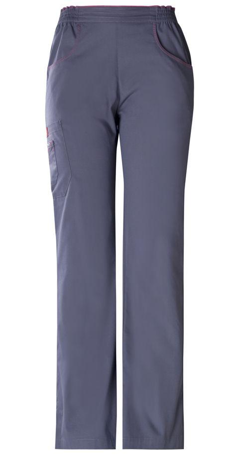Dickies Medical 82010 Pantalon Con Resorte Tipo Cargo Para Mujer Ropa Ropa Quirurgica Uniformes Medicos