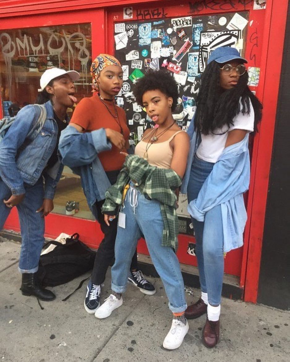 Black Girl Fashion: BGF Fly Girls:: SQUADDD! ️ Happy